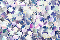 Jolifin Mirror Glitter - Blume
