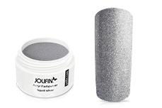 Jolifin Acryl Farbpulver liquid silver 5g