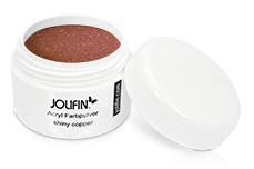 Jolifin Acryl Farbpulver shiny copper 5g