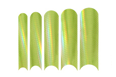Jolifin Chrome natural French Sticker grün