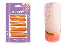 Jolifin Chrome natural French Sticker kupfer