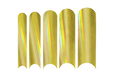 Jolifin Chrome natural French Sticker gold