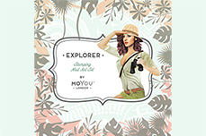 MoYou-London Schablone Explorer Collection 08