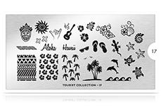 MoYou-London Schablone Tourist Collection 17