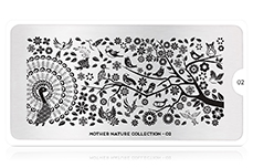 MoYou-London Schablone Mother Nature Collection 02