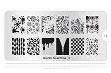 MoYou-London Schablone Princess Collection 13