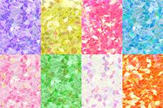Jolifin Diamond Glitter clear Set