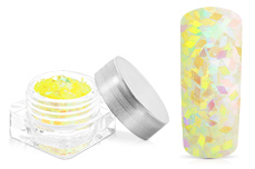 Jolifin Diamond Glitter clear gelb