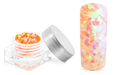 Jolifin Diamond Glitter clear orange