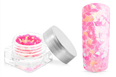 Jolifin Diamond Glitter clear pink