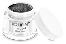 Jolifin Farbgel silver steel 5ml