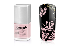 Jolifin Stamping-Lack - pastell-rosa 12ml