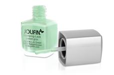 Jolifin Stamping-Lack - pastell-grün 12ml