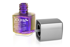 Jolifin Stamping-Lack - Flip Flop purple-galaxy 12ml