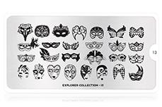 MoYou-London Schablone Explorer Collection 13