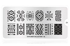 MoYou-London Schablone Explorer Collection 26