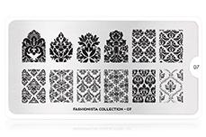 MoYou-London Schablone Fashionista Collection 07