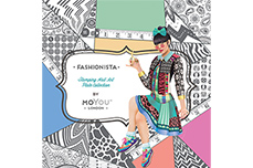 MoYou-London Schablone Fashionista Collection 07