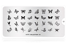 MoYou-London Schablone Kitty Collection 01