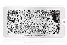 MoYou-London Schablone Mother Nature Collection 12