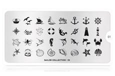 MoYou-London Schablone Sailor Collection 01