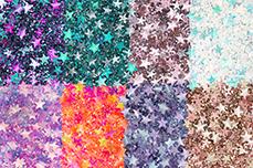 Jolifin Glitter Stars Set