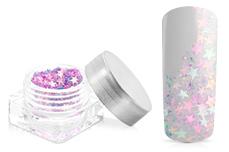 Jolifin Glitter Stars icy pink-blue