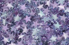 Jolifin Glitter Stars lilac-blue