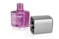 Jolifin Stamping-Lack - pink Glitter 12ml