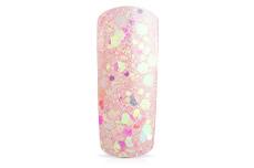 Jolifin Illusion Glitter V pastell-apricot