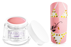 Jolifin Farbgel apricot cream 5ml