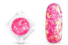Jolifin Nail-Art Glitter Flakes Neon-Pink