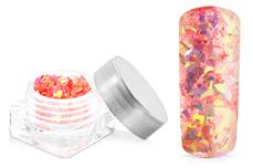 Jolifin Nail-Art Glitter Flakes Apricot