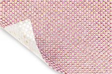 Jolifin Strasssteine für UV-Lichthärtungsgeräte white-pink