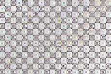 Jolifin selbstklebende Strassmatte - white-silver
