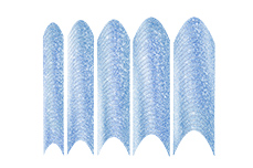 Jolifin Glitter French light-blue