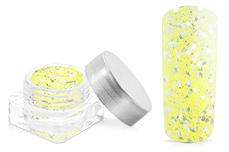 Jolifin Illusion Glitter VI pastell-sunshine