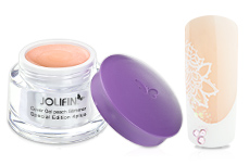 Jolifin Special Edition 4plus Make-up Cover Gel peach Glimmer 30ml