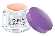 Jolifin Special Edition 4plus Make-up Cover Gel peach Glimmer 5ml