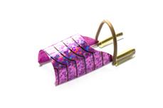 Wiederverwendbares Schablonen-Set lila