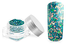 Jolifin Illusion Glitter VII caribbean sea