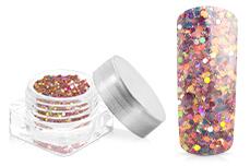 Jolifin Illusion Glitter VII rosy rainbow