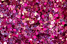 Jolifin Illusion Glitter VII juicy raspberry