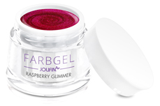Jolifin Farbgel raspberry Glimmer 5ml