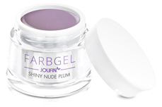 Jolifin Farbgel shiny nude plum 5ml