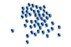 Straßsteine rund water blue