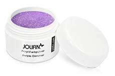 Jolifin Acryl Farbpulver purple Glimmer 5g