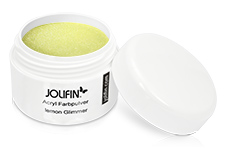 Jolifin Acryl Farbpulver lemon Glimmer 5g