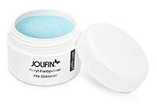Jolifin Acryl Farbpulver sky Glimmer 5g