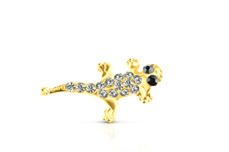 Jolifin Overlay Glitter Salamander gold